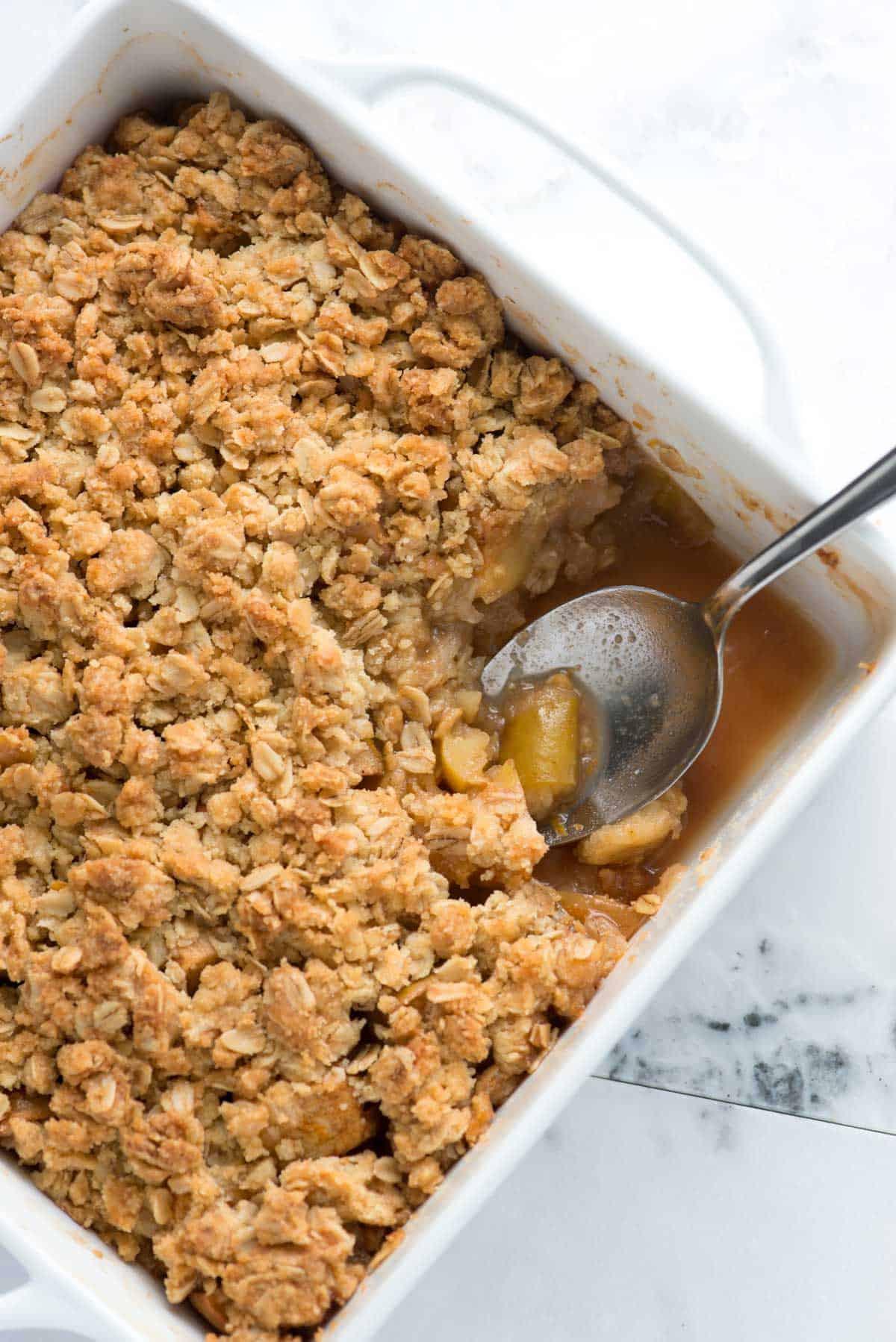 Apple Crisp Dessert  Easy Apple Crisp Recipe with Oats