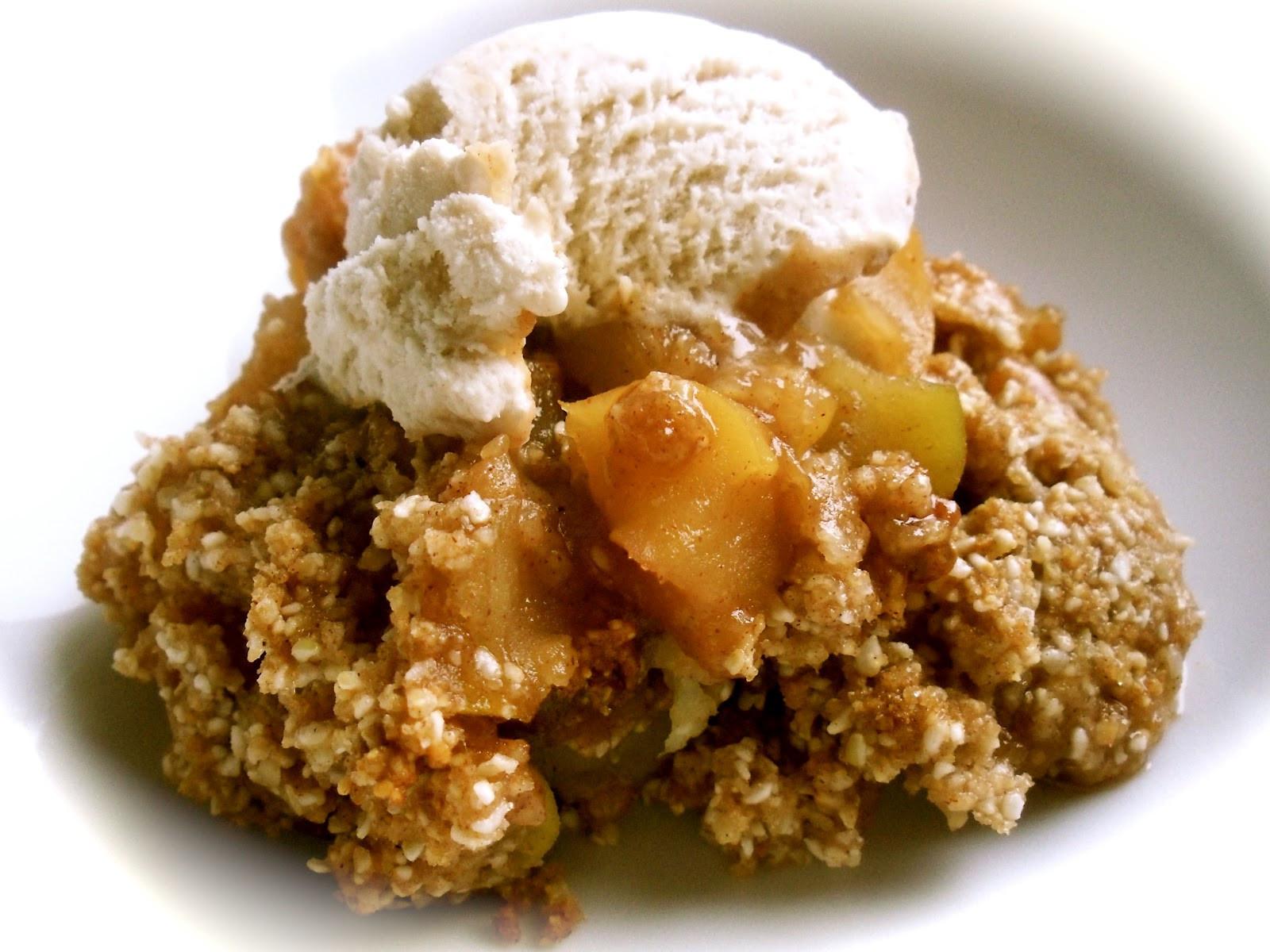 Apple Crisp Dessert  Well on Wheels The traveling vegan chef Gluten free