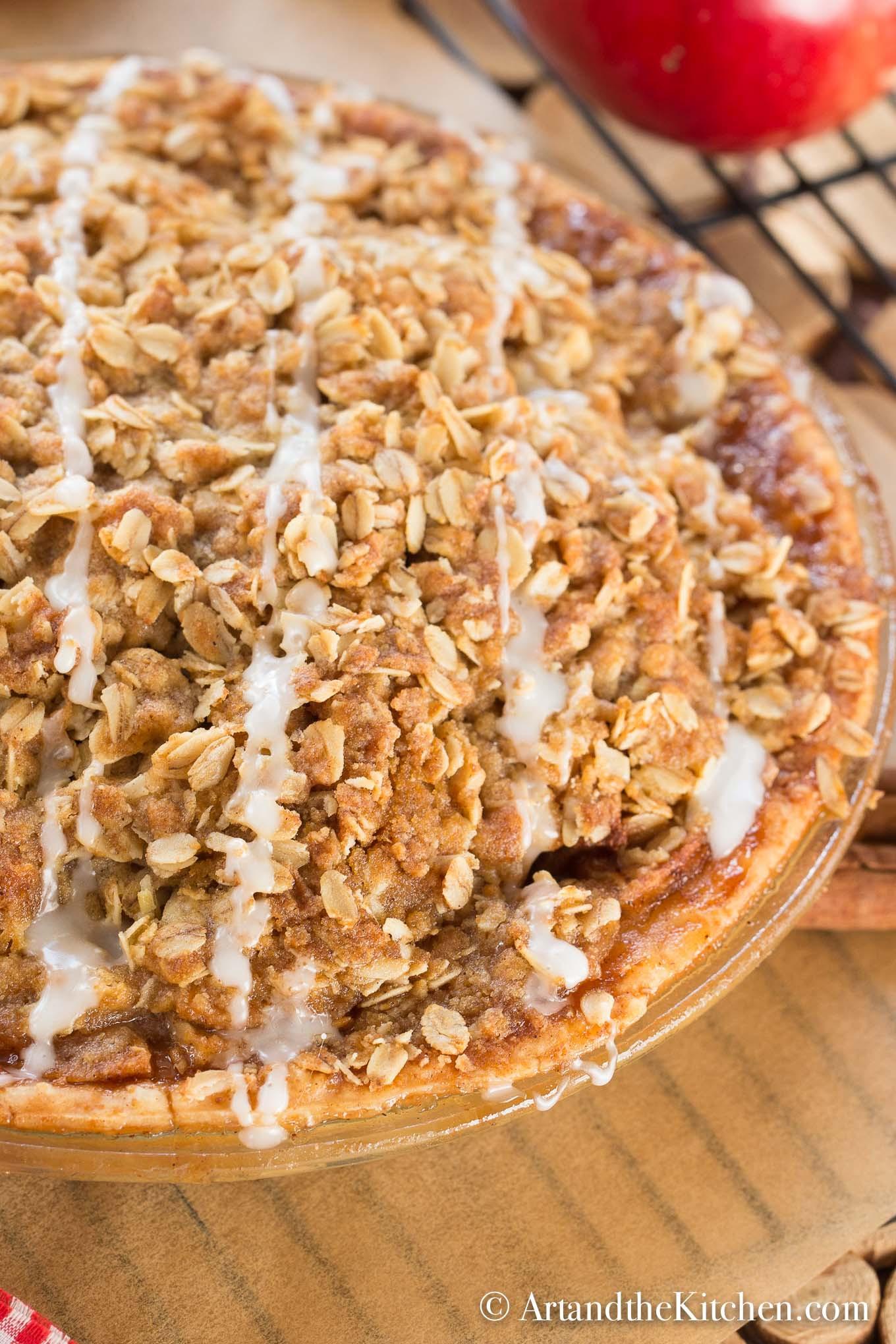 Apple Crisp With Pie Filling  Apple Crisp Pie