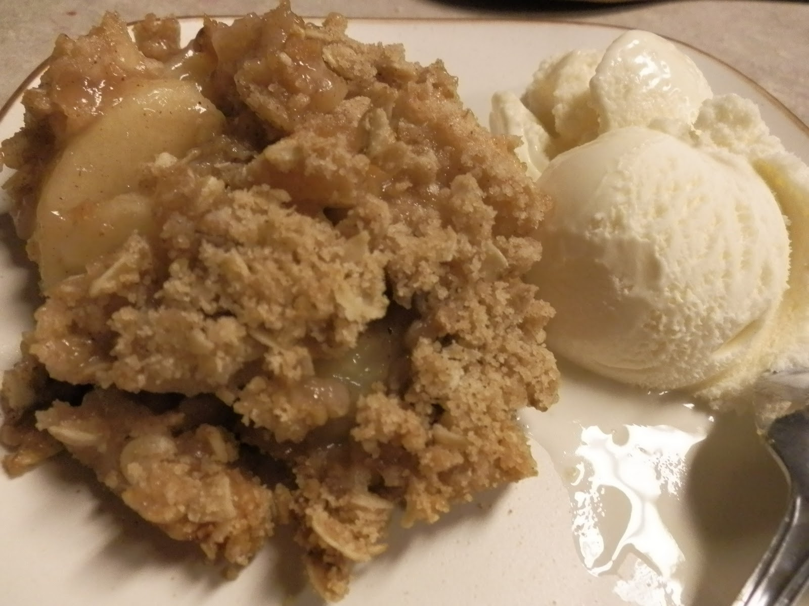 Apple Crisp With Pie Filling  Out of the Garden Apple Crisp with Canned Apples