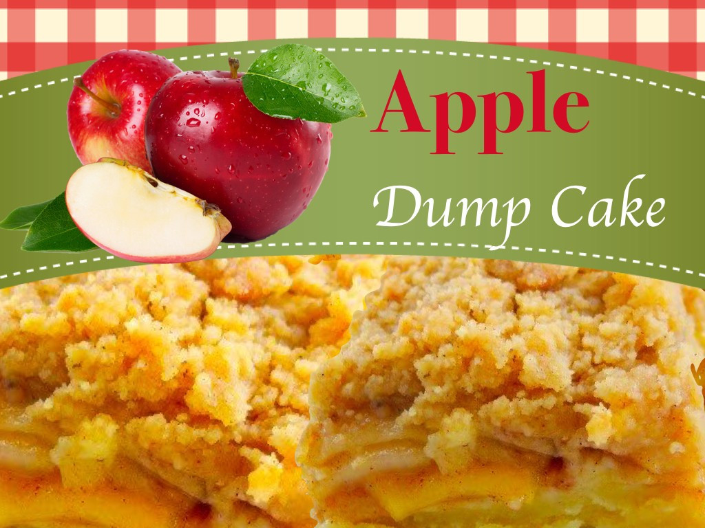 Apple Dump Cake Recipe  Apple Dump Cake Dessert Recipe