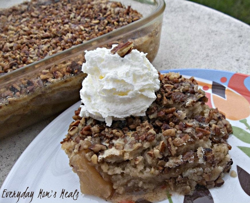 Apple Dump Cake Recipe  Thanksgiving Recipe Apple Dump Cake