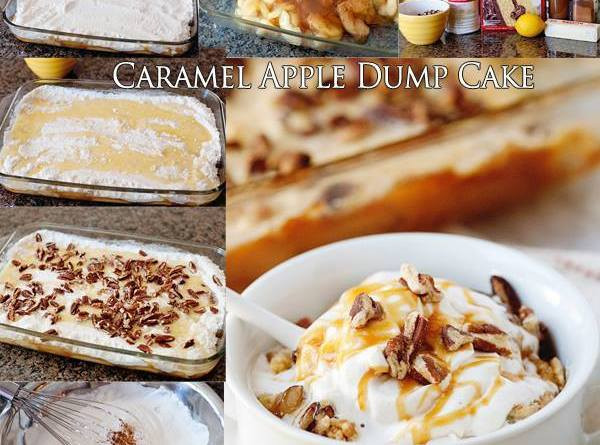 Apple Dump Cake Recipe  Caramel Apple Dump Cake Recipe 2