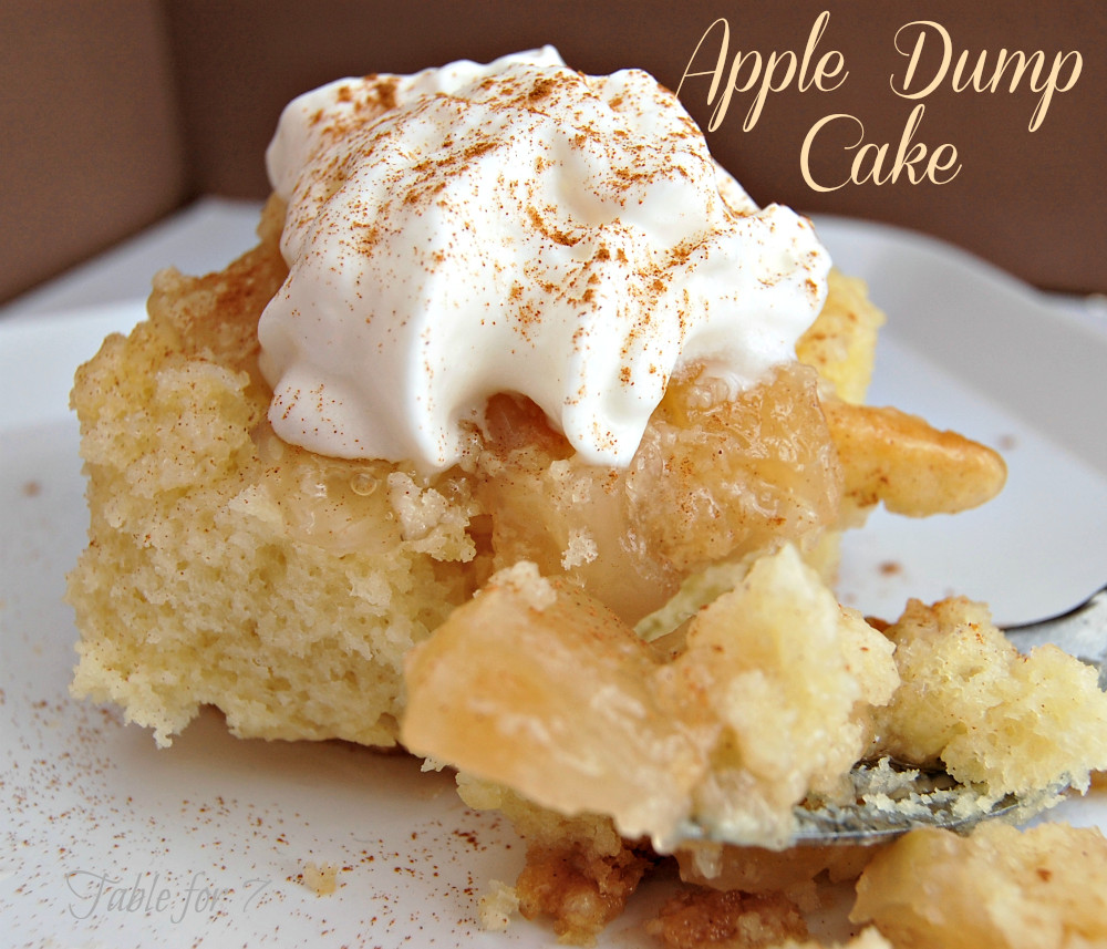 Apple Dump Cake Recipe  Mom s Best Apple Dump Cake