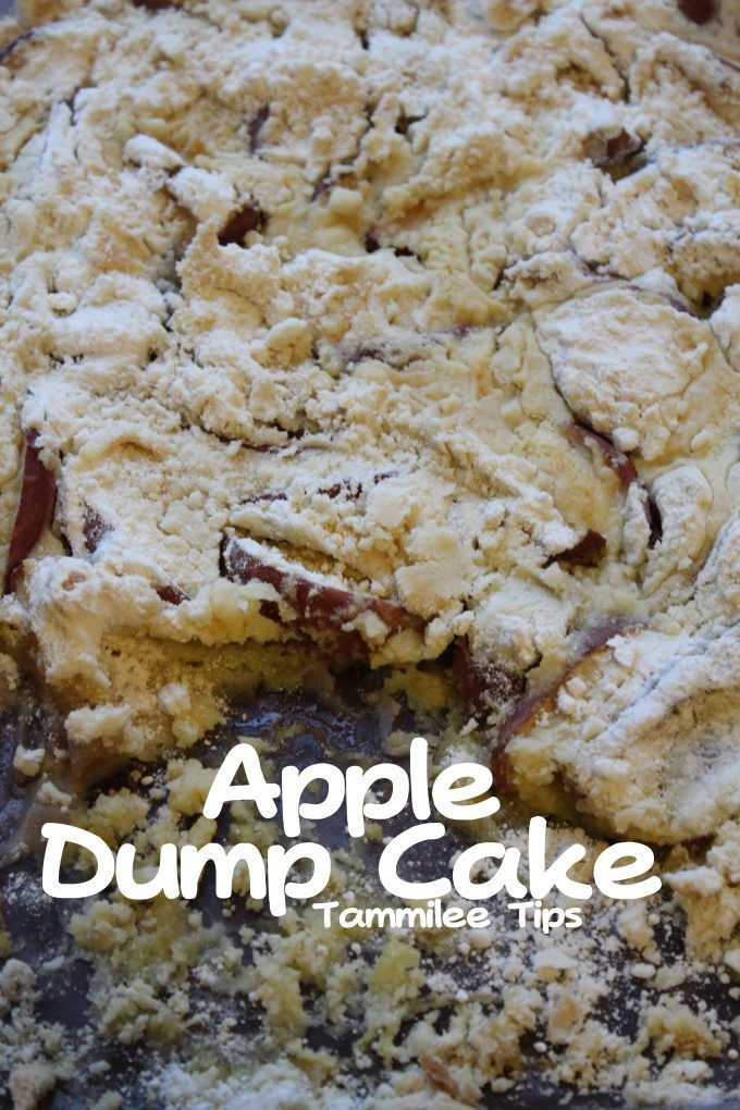 Apple Dump Cake Recipe  Apple Dump Cake Recipe