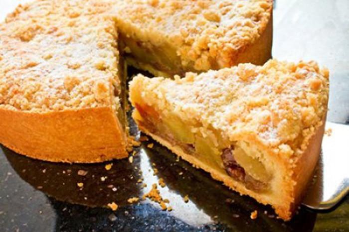 Apple Pie Bake Time  Tarta de Manzana con Crumble de Canela Receta