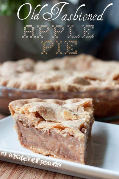 Apple Pie Bake Time  125 best OWYD Desserts images on Pinterest