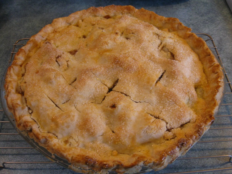 Apple Pie Bake Time  GLUTEN FREE OLD FASHIONED APPLE PIE Gluten Free