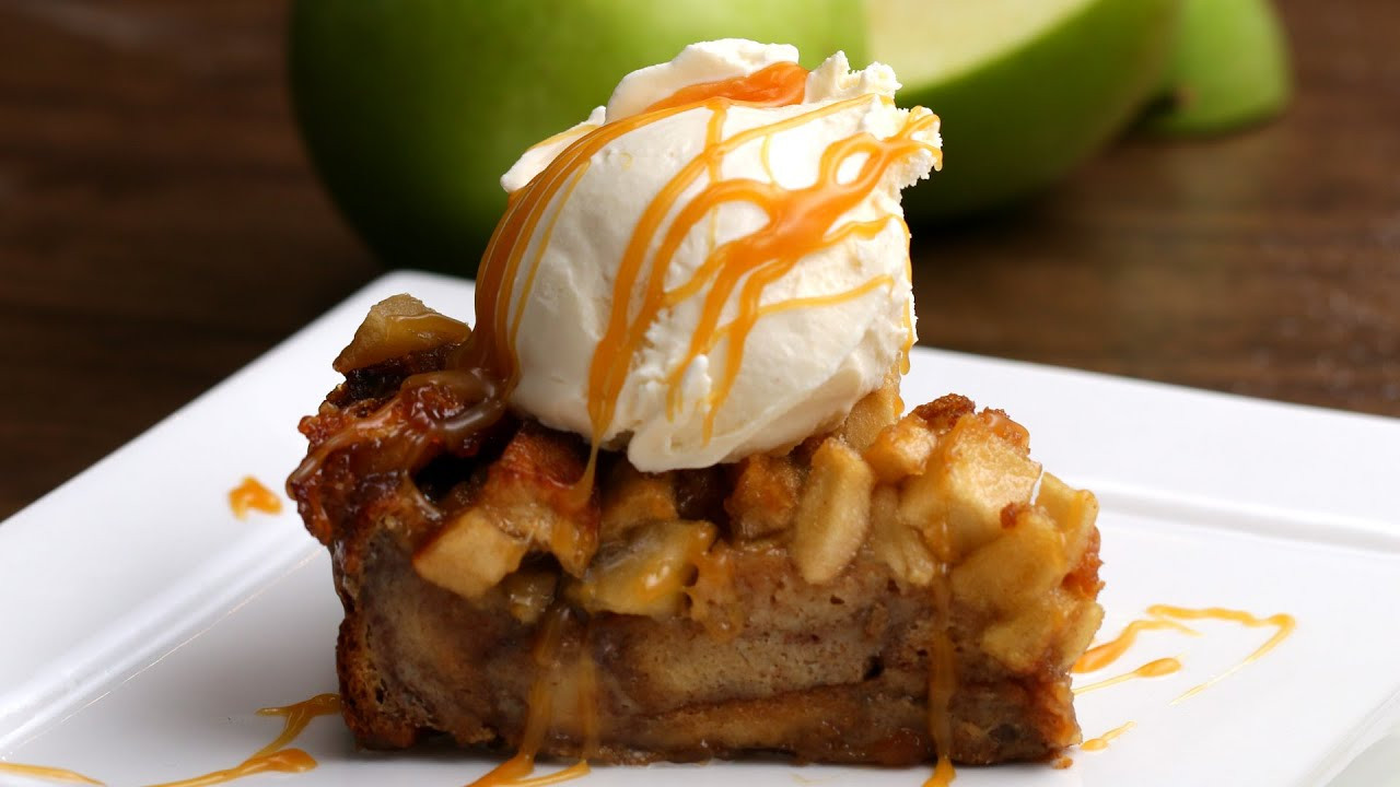 Apple Pie Bread Pudding  Apple Pie Bread Pudding
