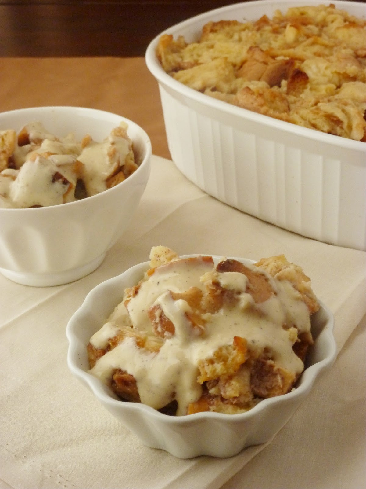 Apple Pie Bread Pudding  Love and Confections Apple Pie Bread Pudding
