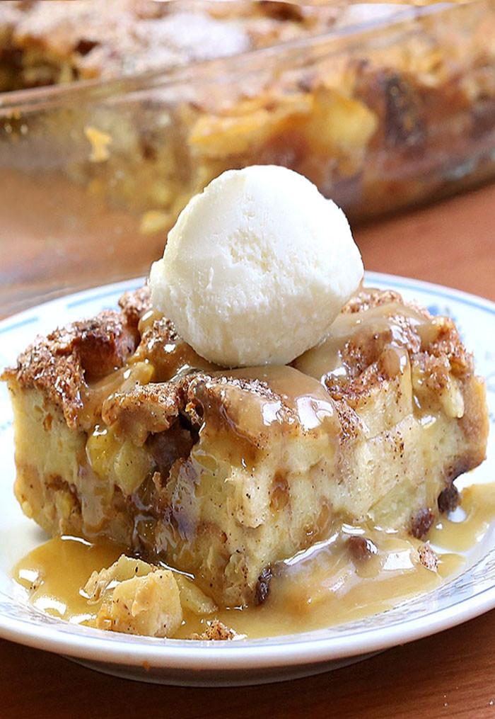 Apple Pie Bread Pudding  Apple Pie Bread Pudding Cakescottage
