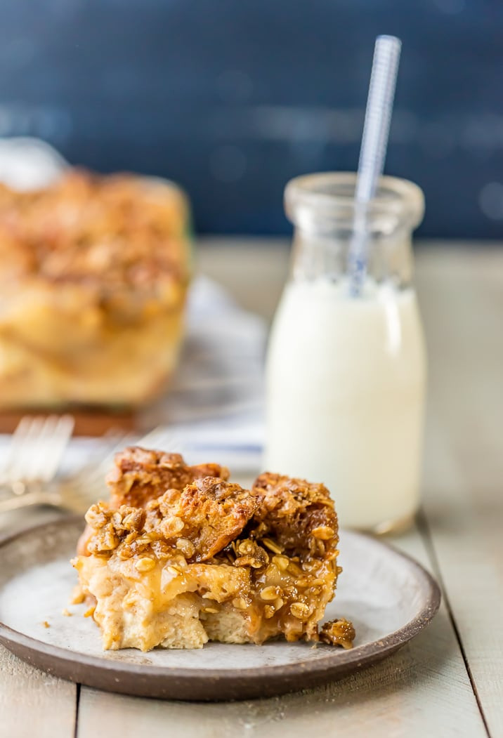 Apple Pie Bread Pudding  Caramel Apple Pie Bread Pudding The Cookie Rookie