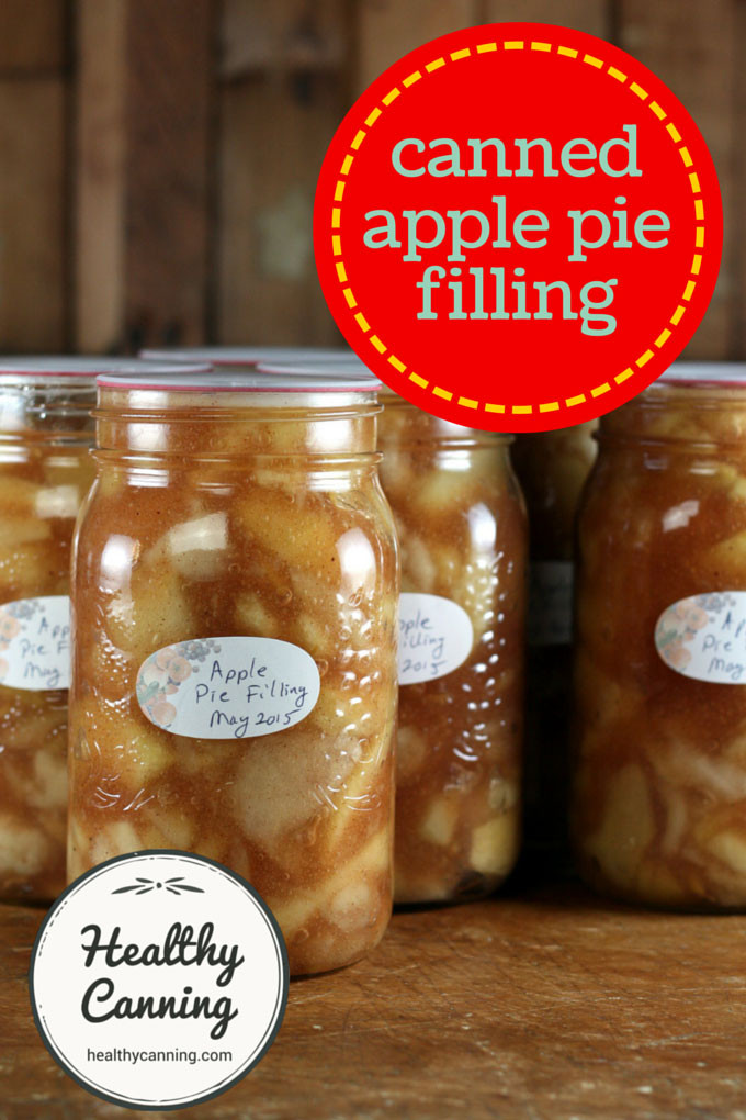 Apple Pie Filling Canned  Canned Apple Pie Filling Healthy Canning