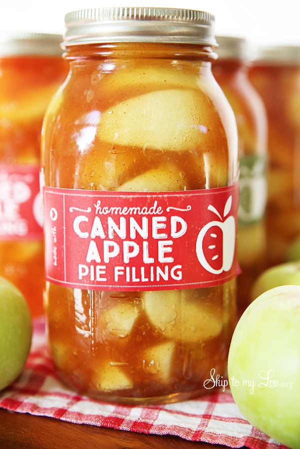 Apple Pie Filling Canned  Homemade Apple Pie Filling Recipe Skip to my Lou
