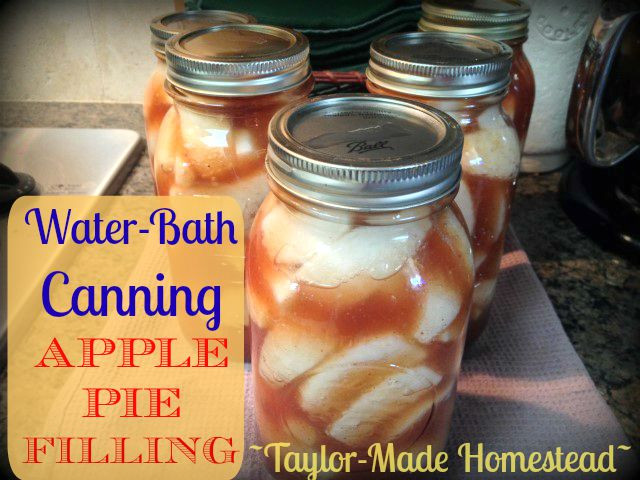Apple Pie Filling For Canning  Recipe Water Bath Canning Delicious Apple Pie Filling