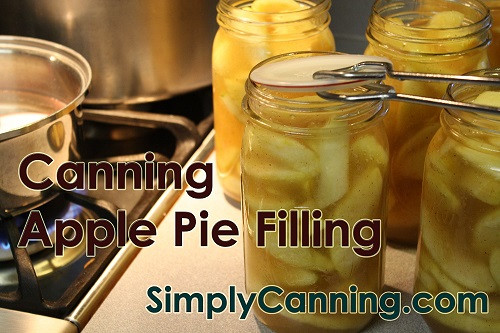 Apple Pie Filling For Canning  Canning Apple Pie Filling Tips and tricks for and easy