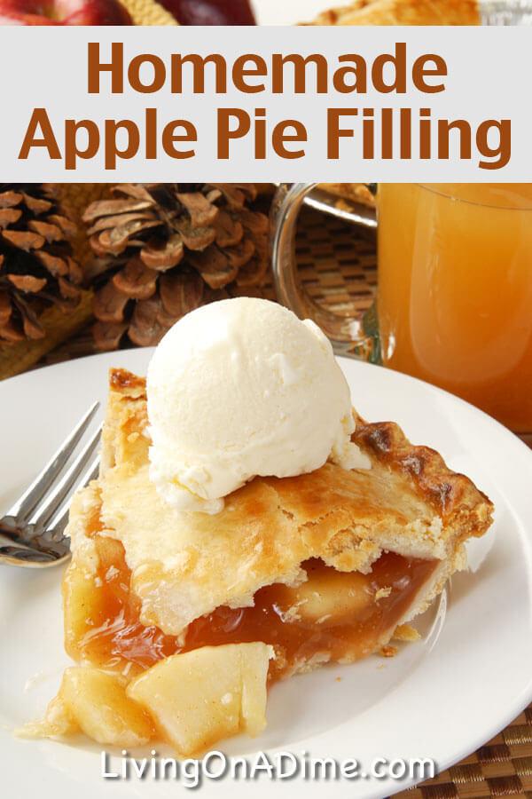 Apple Pie Filling Recipe  easy apple pie filling