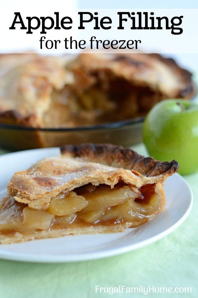Apple Pie Filling Recipe  How to Make Easy Apple Pie Filling for the Freezer