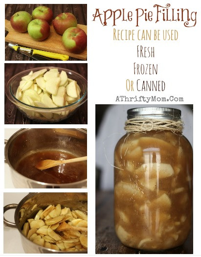 Apple Pie Filling Recipe  Apple Pie Filling Recipe Can be used Fresh Frozen or Canned