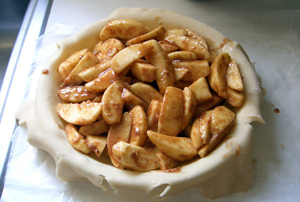 Apple Pie Filling  How to Bake An Organic Apple Pie