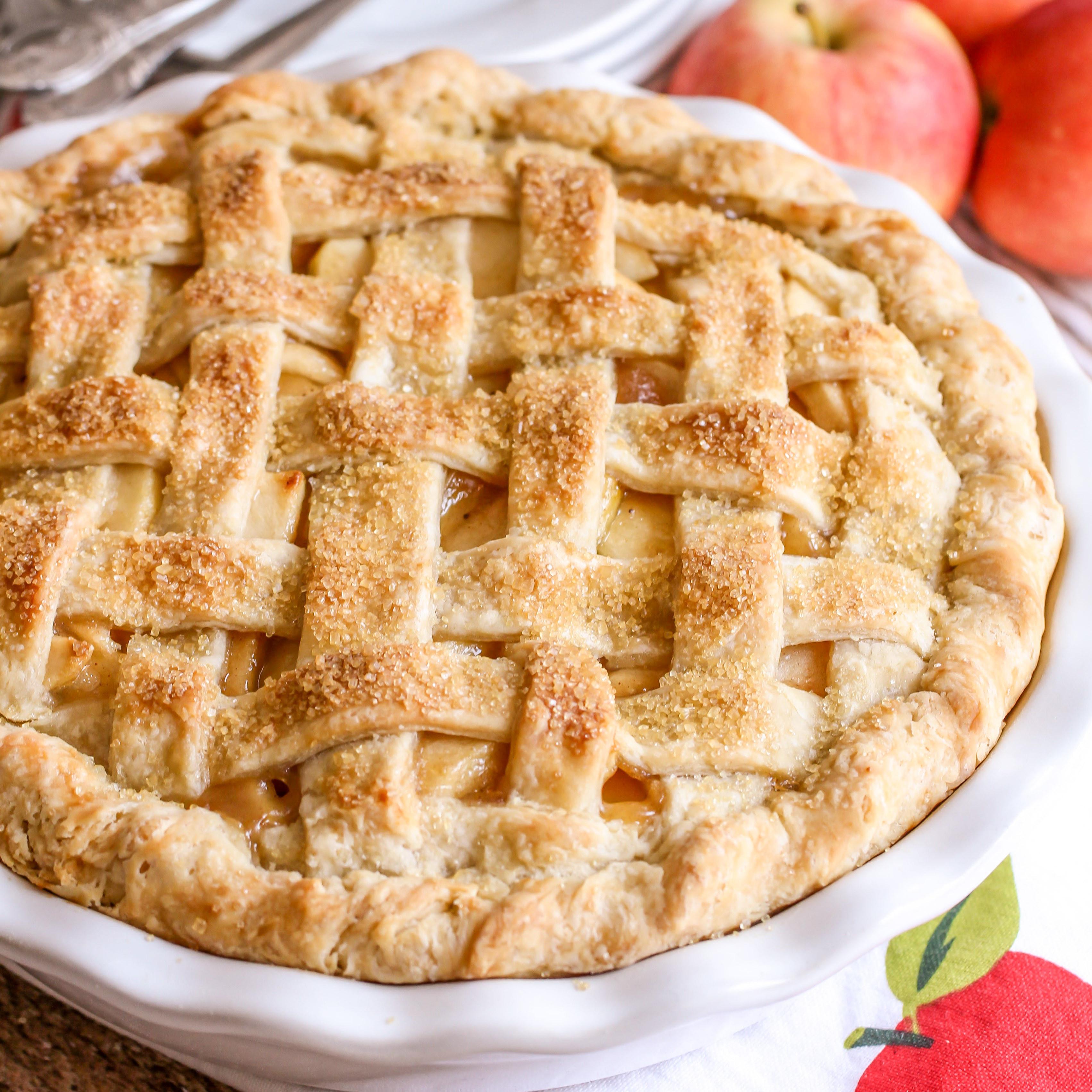Apple Pie Ingredients  BEST Homemade Apple Pie Step by Step VIDEO