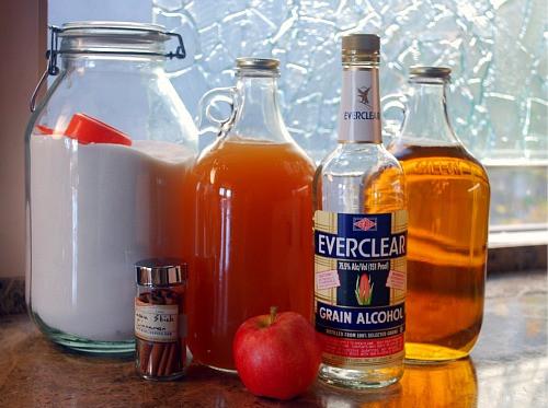 Apple Pie Liquor  Apple Pie Liqueur quick version Other Fun Stuff to