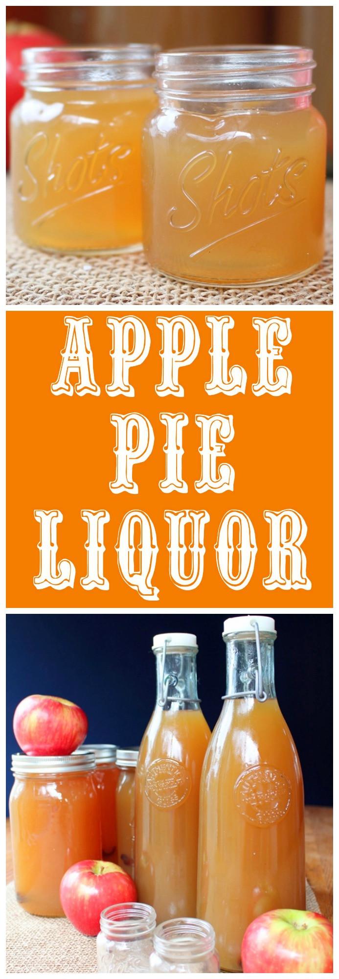 Apple Pie Liquor  apple pie liquor recipes