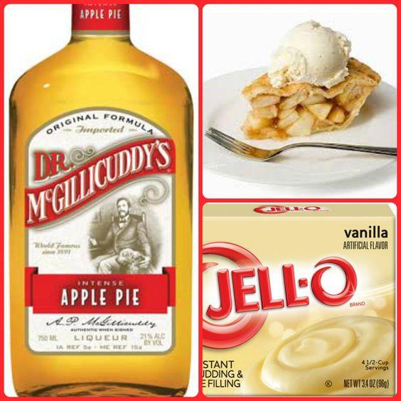 Apple Pie Liquor  dr mcgillicuddy apple pie