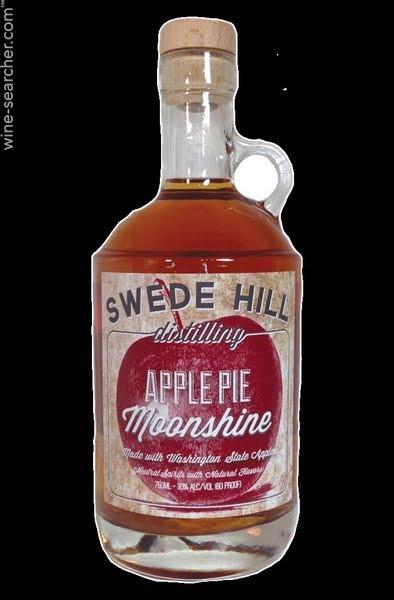 Apple Pie Liquor  Swede Hill Distilling Apple Pie Moonshine Liqueur