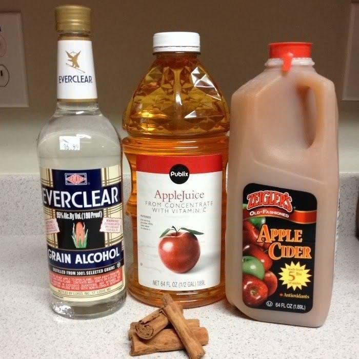 Apple Pie Liquor  Apple Pie Liquor Made With Everclear