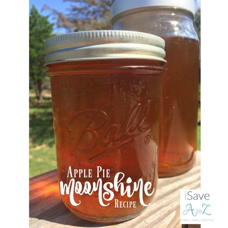 Apple Pie Moonshine Recipe  slow cooker apple pie moonshine