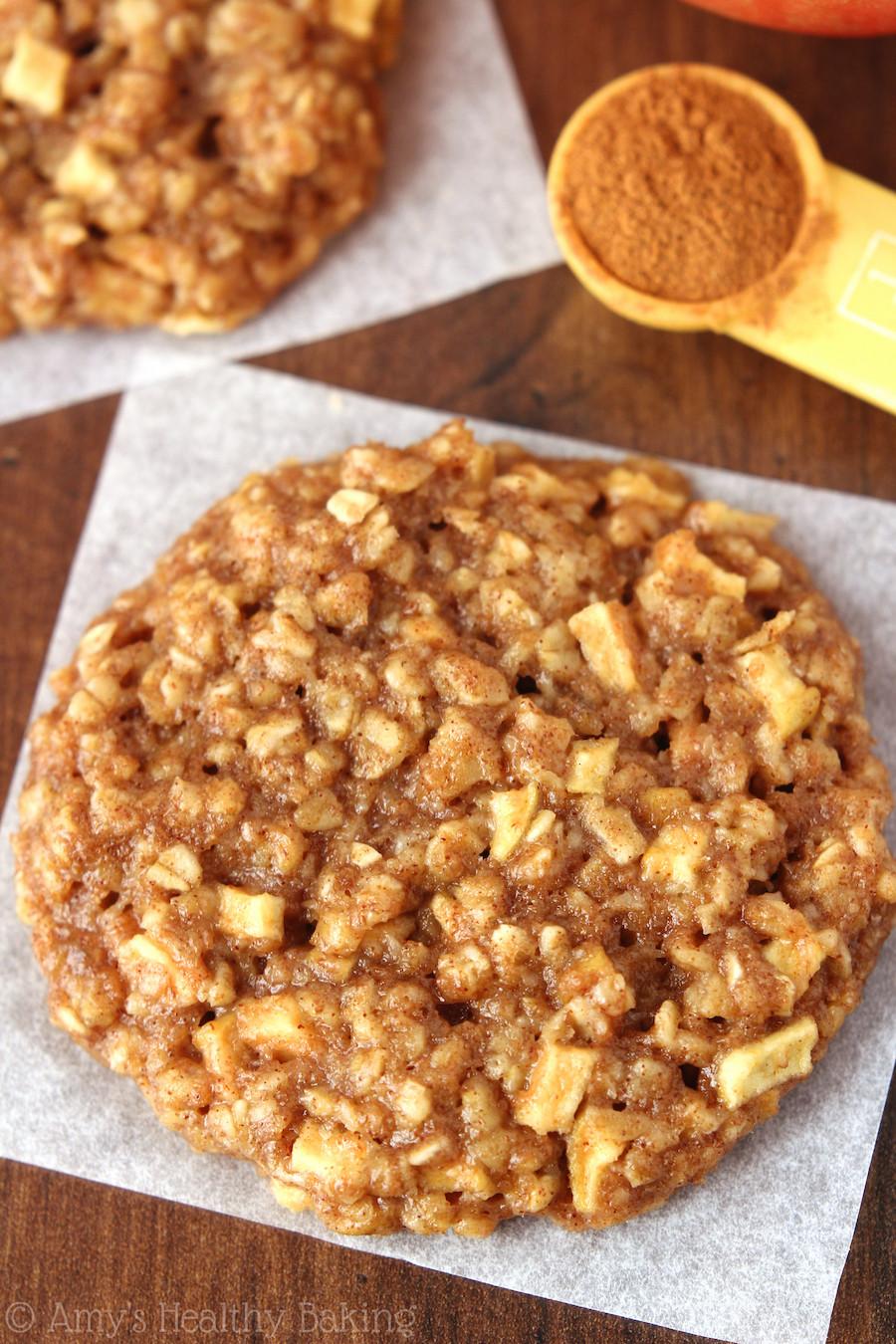 Apple Pie Oatmeal  Apple Pie Oatmeal Cookies Recipe Video