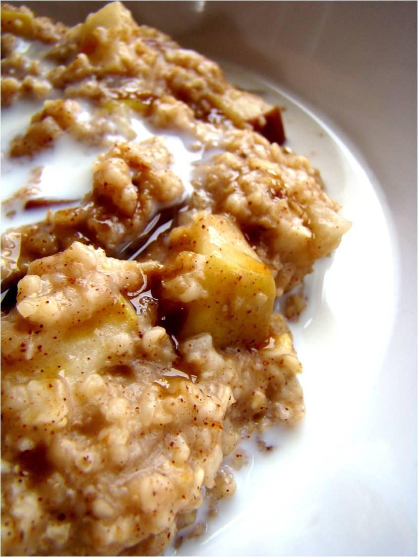 Apple Pie Oatmeal  Family Feedbag Apple pie oatmeal