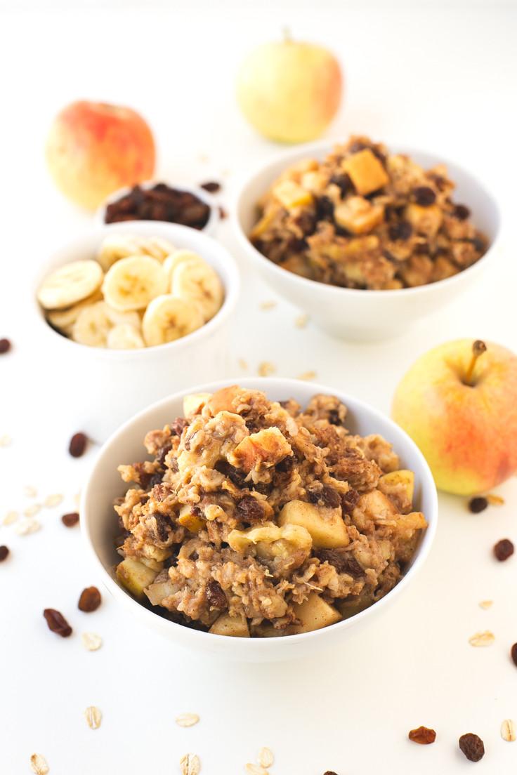 Apple Pie Oatmeal  Apple Pie Baked Oatmeal