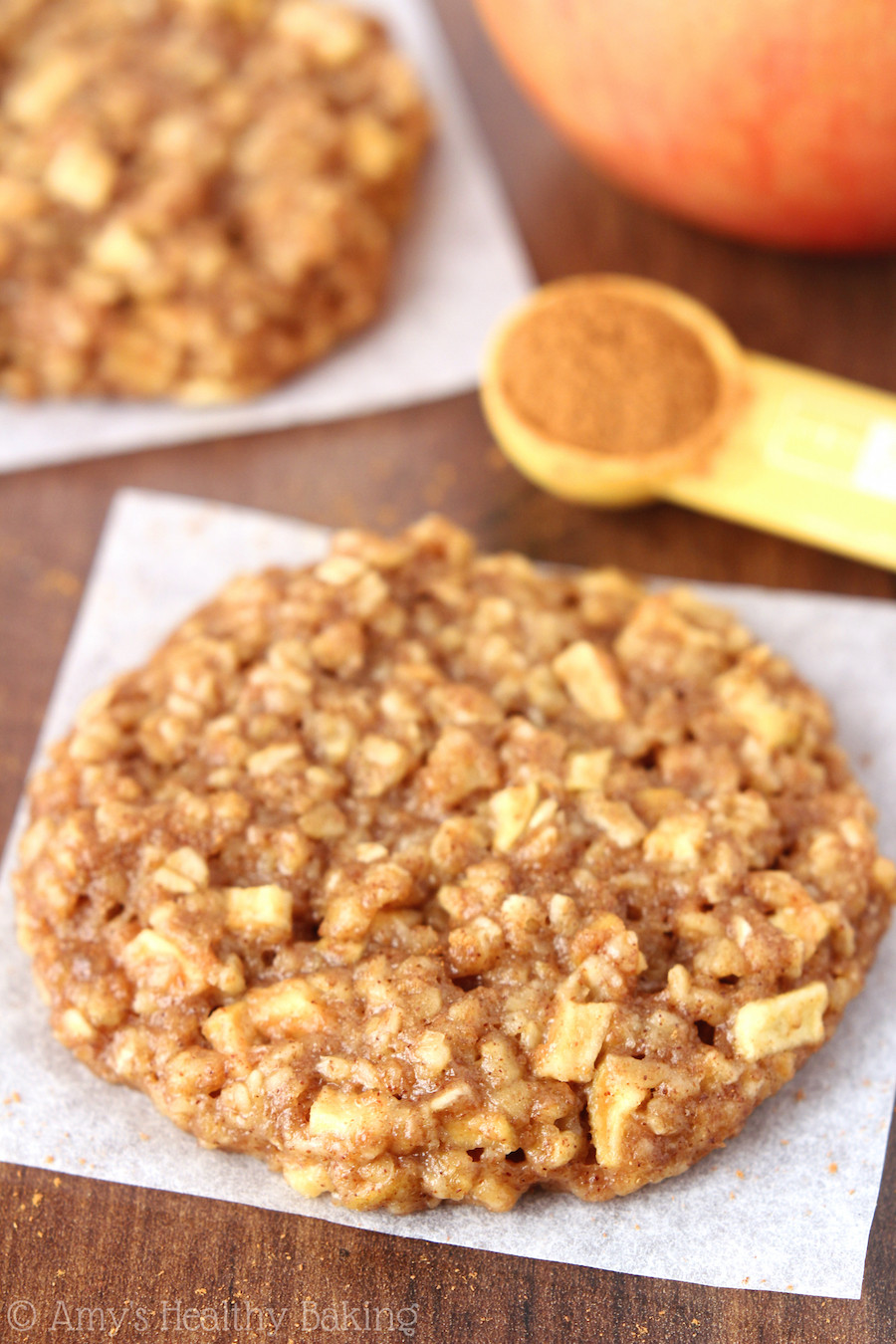 Apple Pie Oatmeal  apple banana cookies