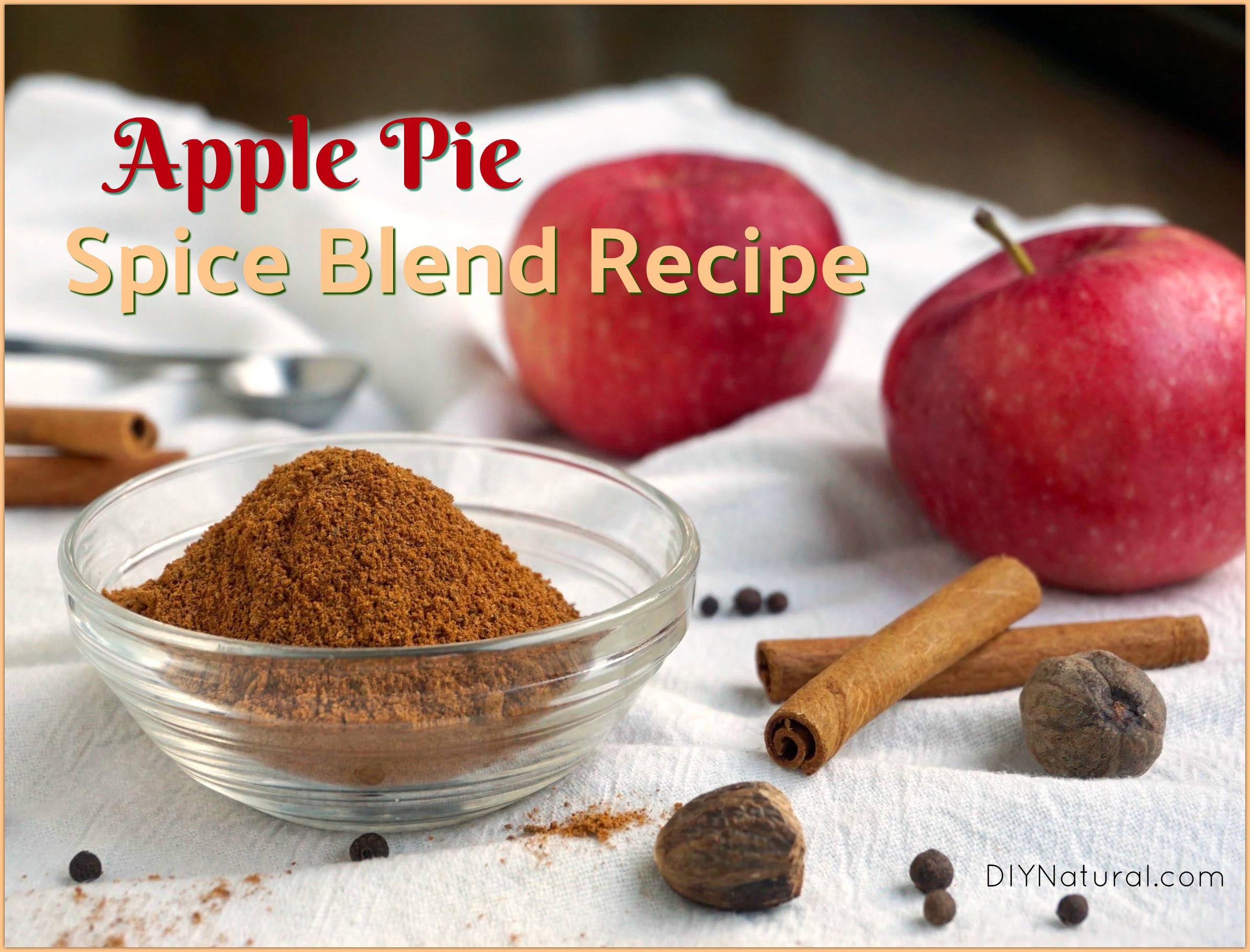 Apple Pie Spice  Apple Pie Spice Recipe Learn to Make Your Own Apple Pie Spice