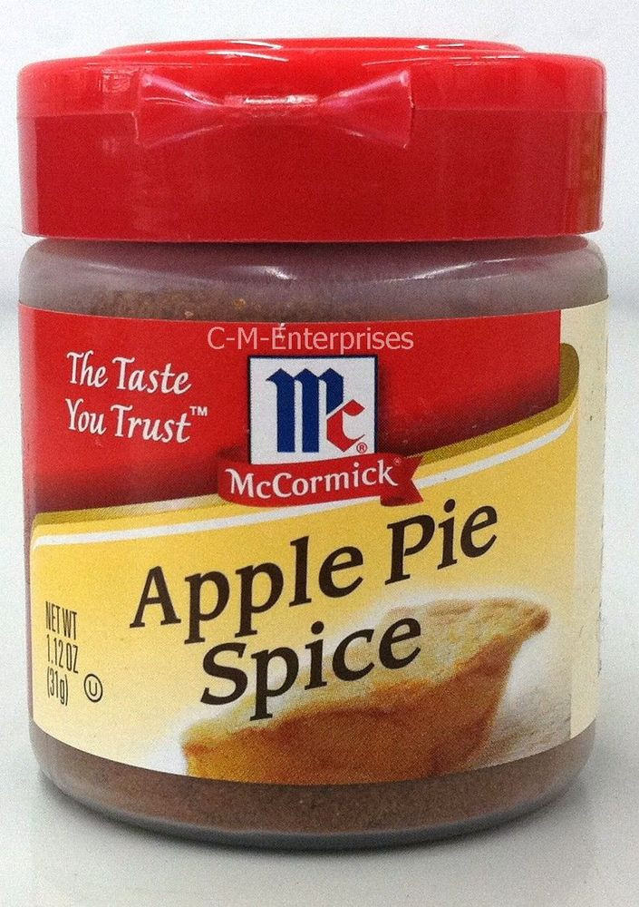 Apple Pie Spice  McCormick Apple Pie Spice 1 12 oz bottle