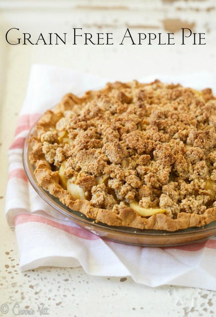 Apple Pie Topping  Apple Pie Grain Free Paleo Gluten Free Deliciously
