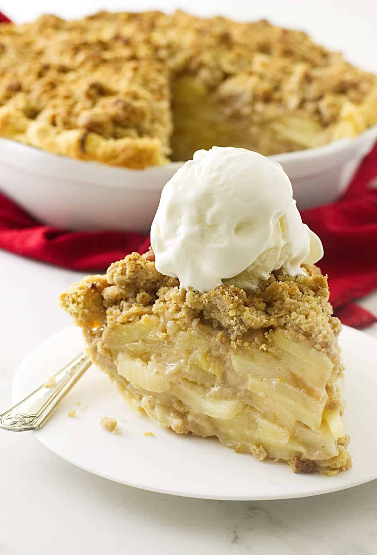 Apple Pie Topping  Dutch Apple Pie with Oatmeal Streusel Savor the Best