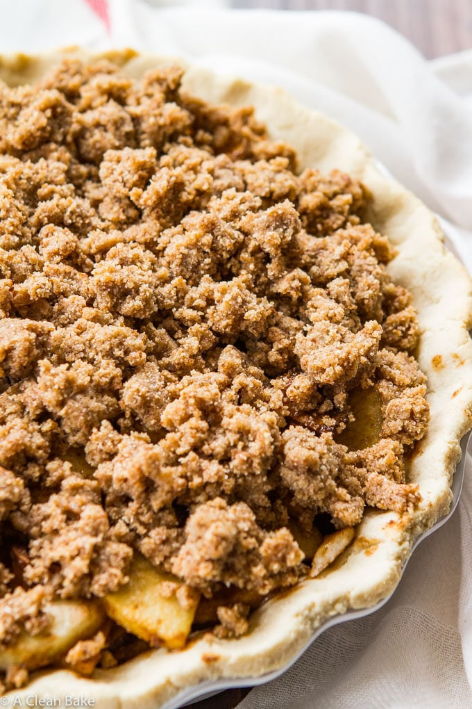 Apple Pie Topping  crumble topping for apple pie