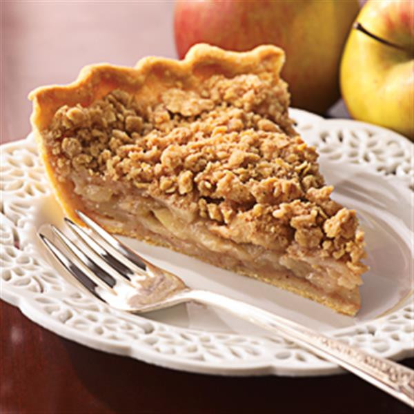 Apple Pie Topping  Streusel Topped Apple Pie