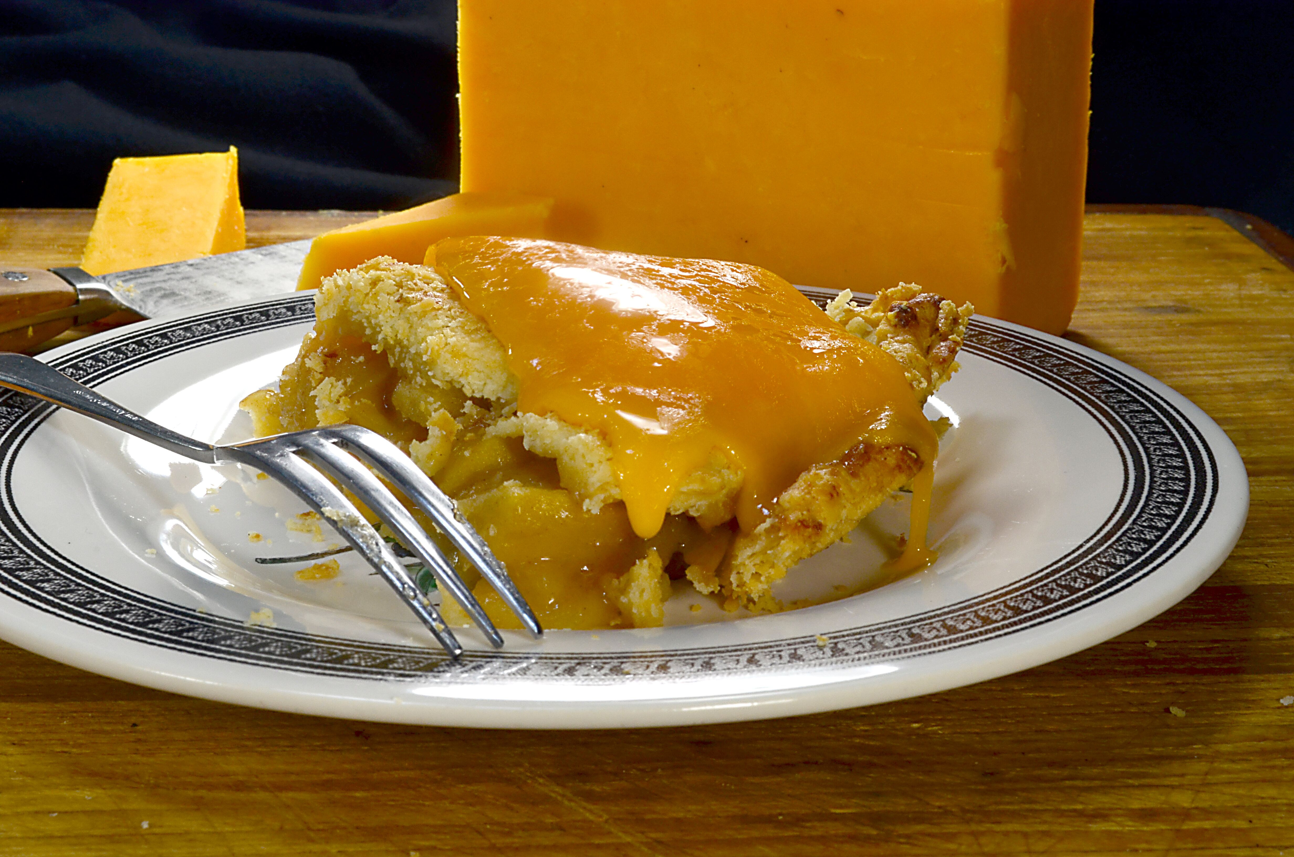 Apple Pie With Cheese  Pie with cheese Ancient pairing tradition or an a la mode