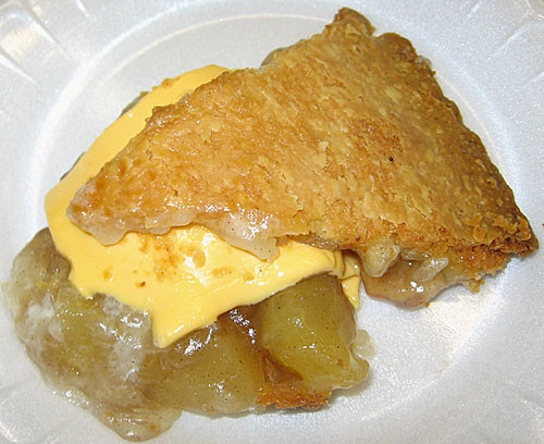 Apple Pie With Cheese  Big Island's Best Holy's Buttered Apple Pie – Tasty Island