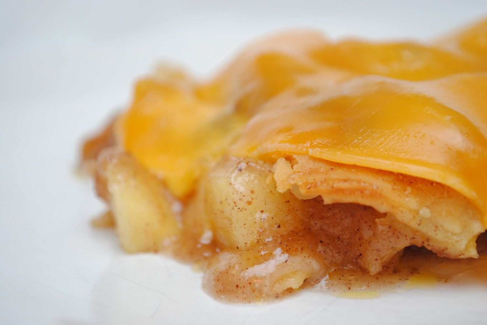 Apple Pie With Cheese  Do you have cheddar cheese on your Apple Pie