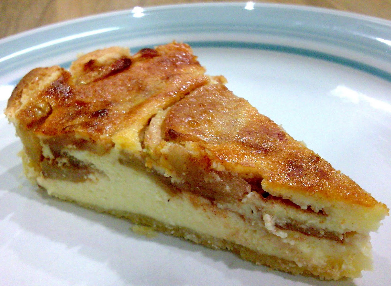 Apple Pie With Cheese  Baking Diary Apple Cheese Pie and Plain Cheese Tarts