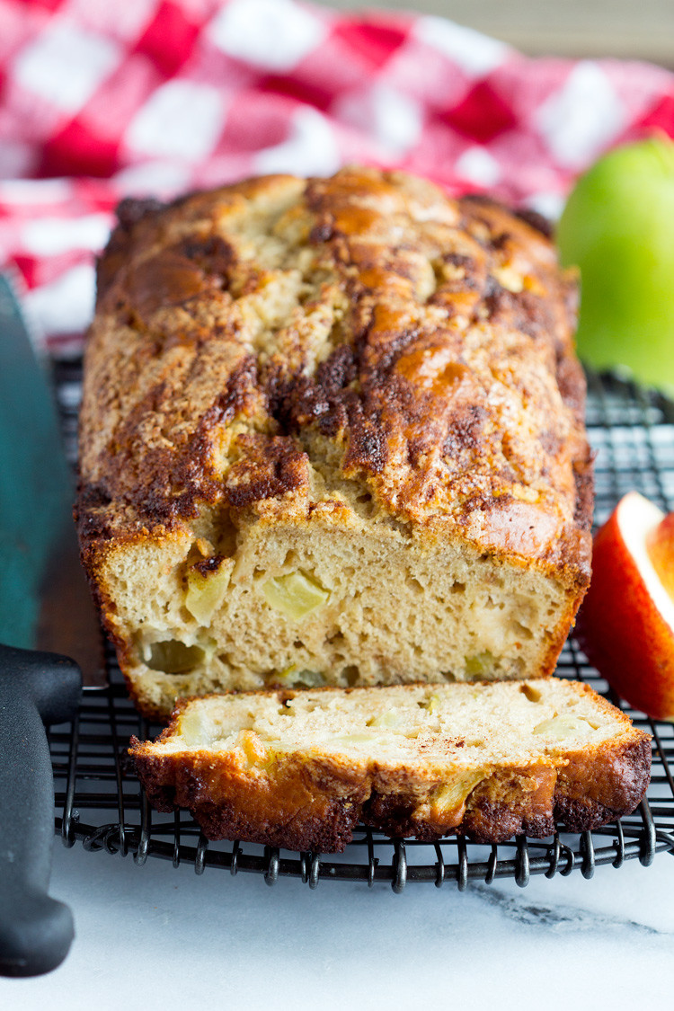 Apple Quick Bread  Homemade Apple Cinnamon Quick Bread Gather for Bread