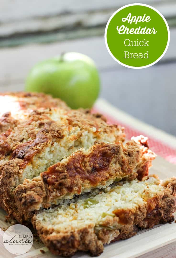 Apple Quick Bread  Apple Cheddar Quick Bread Recipe Simply Stacie