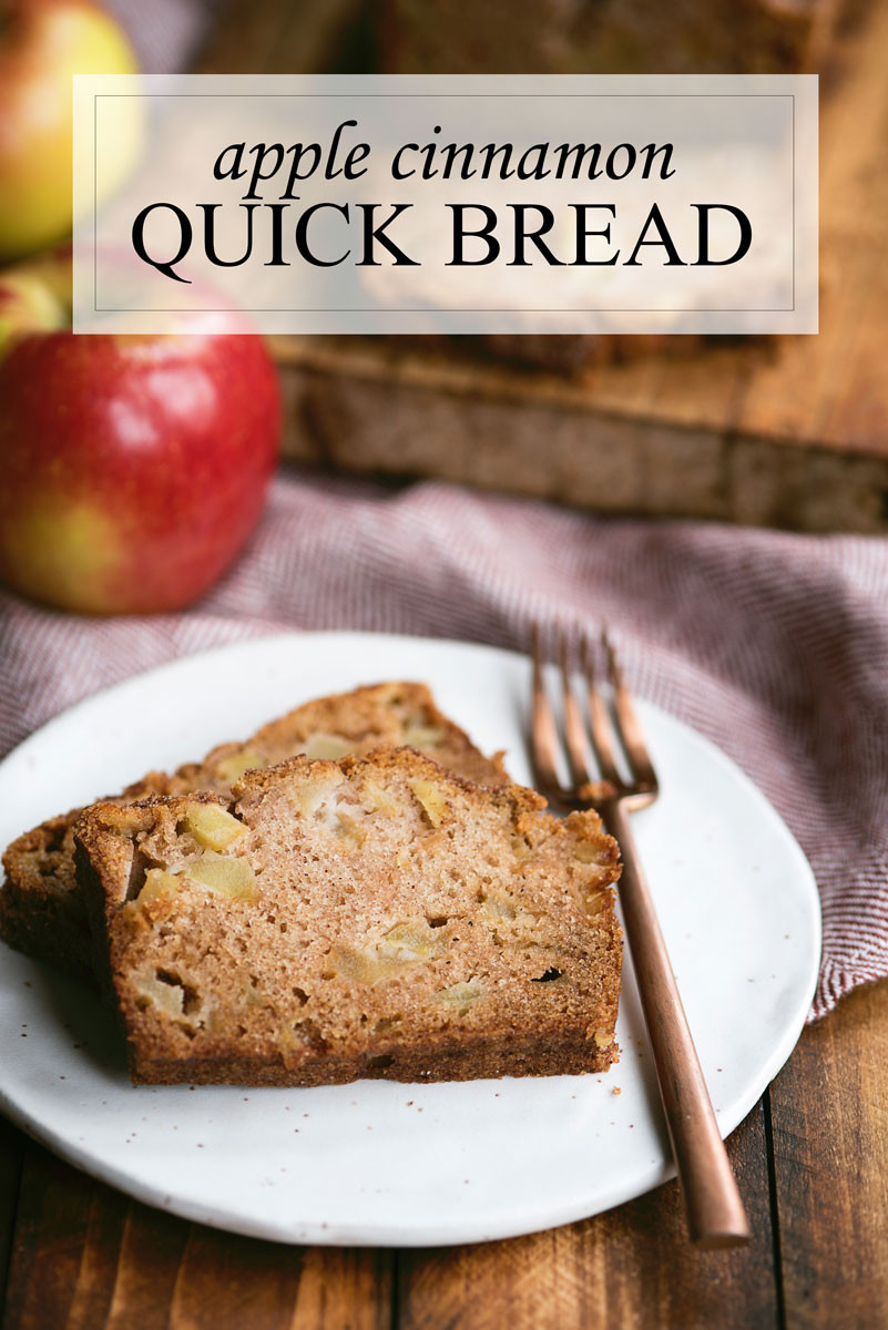 Apple Quick Bread  Quick Apple Bread Recipe with Cinnamon Sugar A Side of Sweet