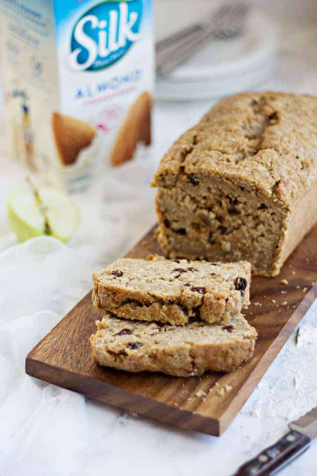 Apple Quick Bread  Vegan Spiced Apple Bread