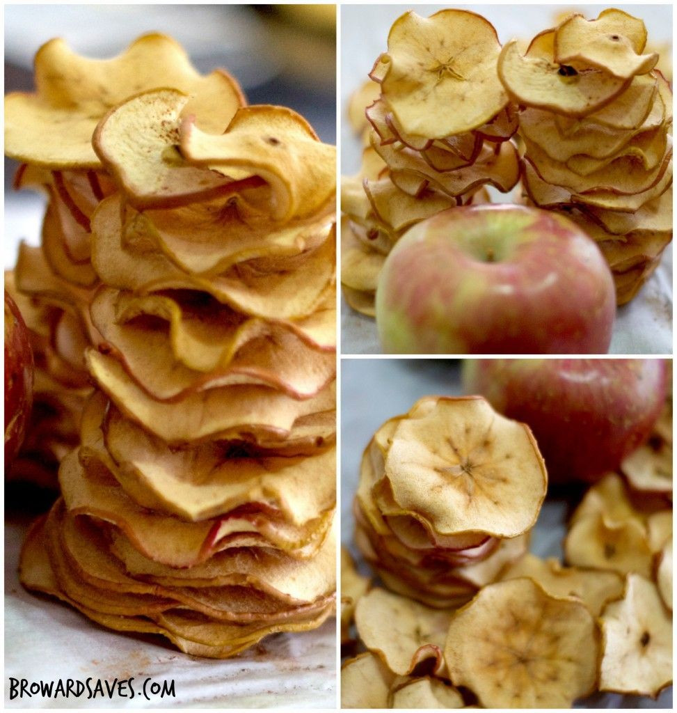 Apple Recipes For Kids  Homemade Crunchy Apple Chips Recipe